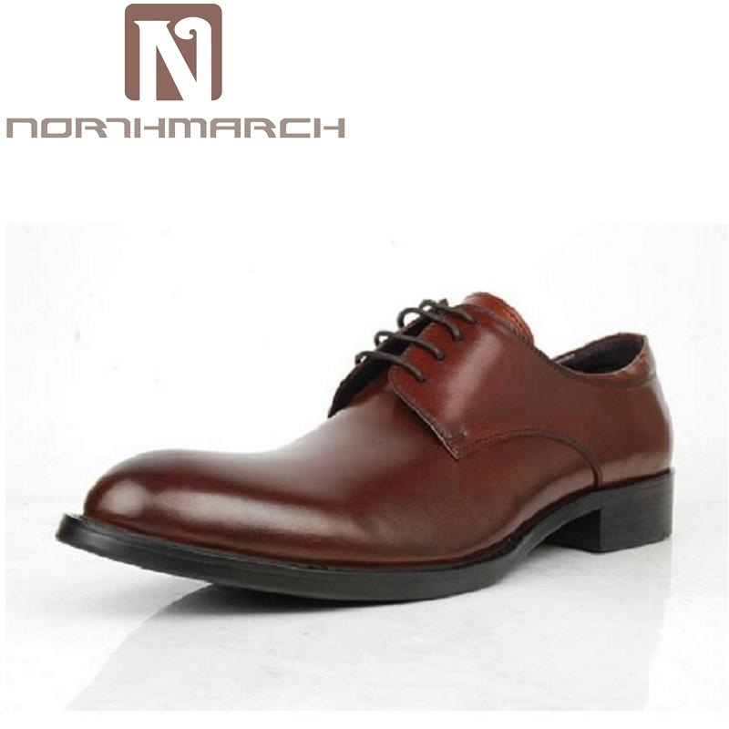 NORTHMARCH Brand Classic Black Pointed Toe Men Dress Shoes Cow Leather Lace Up Men Oxfords Shoes Chaussures Hommes En CuirNORTHMARCH Brand Classic Black Pointed Toe Men Dress Shoes Cow Leather Lace Up Men Oxfords Shoes Chaussures Hommes En Cuir