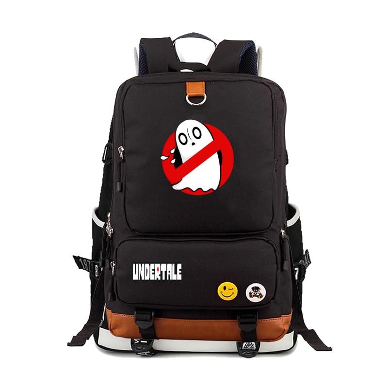 Spiel Undertale Frisk/Toriel/Sans pixel Skeleton Druck Weibliche Rucksack Leinwand Schule Taschen Jugendliche männer frauen Laptop Rucksack
