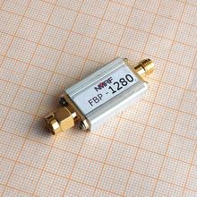 цены Free shipping FBP-1280 1280 (1220~1340) MHz bandpass filter, ultra small volume, SMA interface