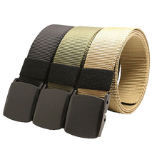 Brand Men Belt Canvas Nylon Outdoor sports Military Tactical Combat Security Cargo hiking Hunting fishing waist women girdle