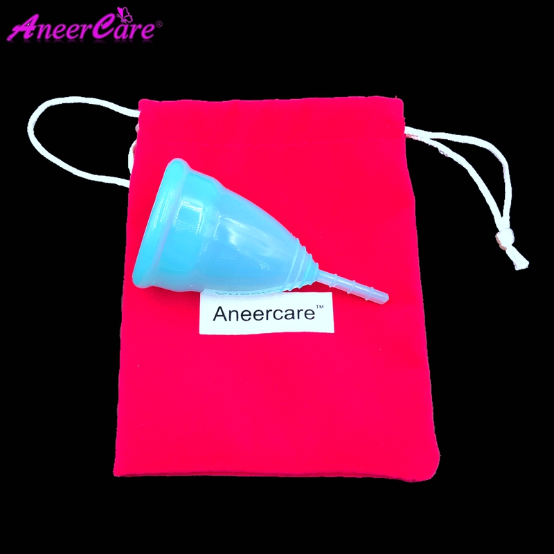 1 st Menstrual Lady Cup Medical Grade Silikon Menstruation Cup - Sjukvård - Foto 4