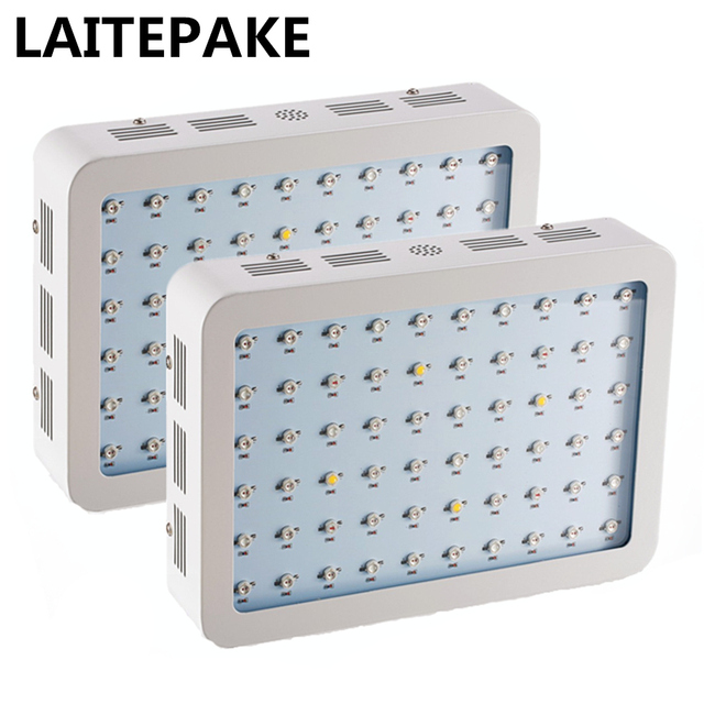 LAITEPAKE 2pcs 600W LED Grow Light Kit Full Spectrum UV IR High Power Best Grow Lighting  sc 1 st  AliExpress.com & LAITEPAKE 2pcs 600W LED Grow Light Kit Full Spectrum UV IR High ...