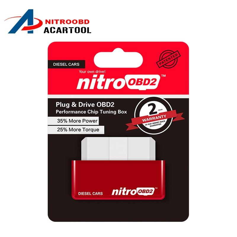 hot sale nitro obd2 plug and drive obd 2 chip tuning box. Black Bedroom Furniture Sets. Home Design Ideas
