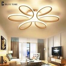 Фойе современные светодио дный потолочный светильник для поверхностного монтажа светодио дный потолочный светильник для Гостиная Спальня столовая светодио дный люстры светильники