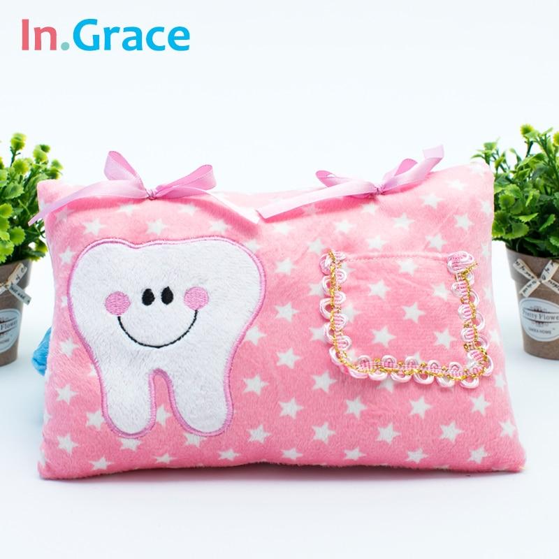 InGrace Cute Soft Tooth Fairy ბალიში ბიჭები - პლუშები სათამაშოები - ფოტო 4