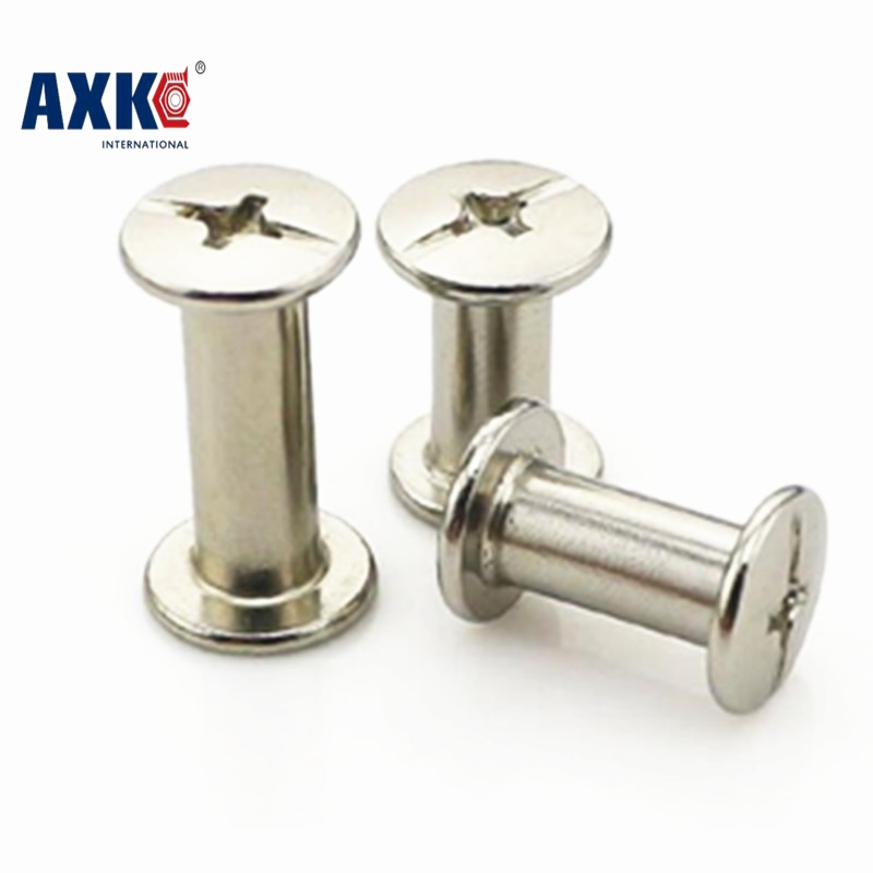 M5*45/50/55/60/65/70/75/80/85/90/95/100mm Photo Album screw Snap Rivet Books Butt Screw assembling Bolts steel-nickel plated чехол для штатива jsunlight 50 65 75 80 95cm
