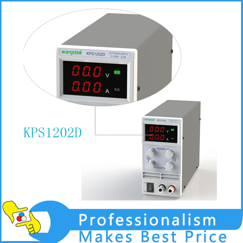 KPS1202D Adjustable High precision double LED display switch DC Power Supply protection function 120V2A 110V/220V 0.1V/0.01A EU switch power kps3010d adjustable high precision double led display switch dc power supply protection function 30v10a 110v 230v