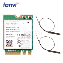 Двухдиапазонная беспроводная Wi Fi карта AC 8260 NGFF 802.11ac intel 8260NGW 867 Мбит/с 2,4G/5 ГГц 802.11a/b/g/n/ac Bluetooth 4,2 с антенной