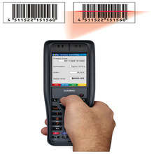 Casio DT-X8 Handheld High-Performance IP67 Rugged PDA Machine 1D Laser Data Collector Terminal Part#: DT-X8-10CNV