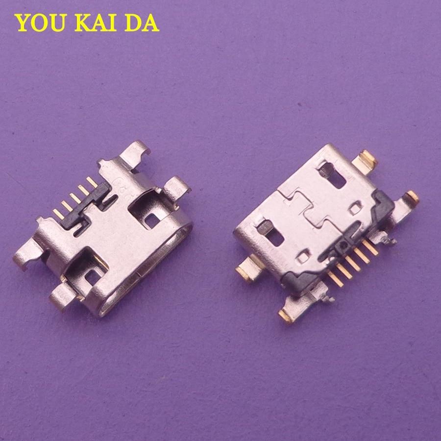 10pcs Micro USB Charging Dock Port Connector Socket For LG K10 2018 Alpha K11+ K11 X410E