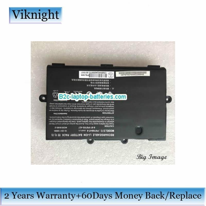 Clevo P870BAT-8 Battery 6-87-P870S-427 15.12V 6000mAh 89Wh For P870DM P8700S 6-87-P870S-4271 6-87-P870S-4272 Laptop Battery w540bat 6 6 87 w540s 4271 6 87 w540s 4w41 laptop battery for clevo w540eu w550su eu m1519 ssd v2 ldlc aurore bb5 b8 2 h1 slim