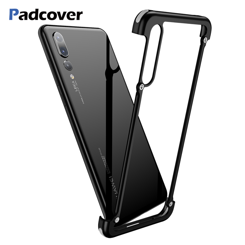 Metal-Protection-Case P20 Case Huawei P30 Bumper-Cover Lite-Shell For Airbag Slim Luxury