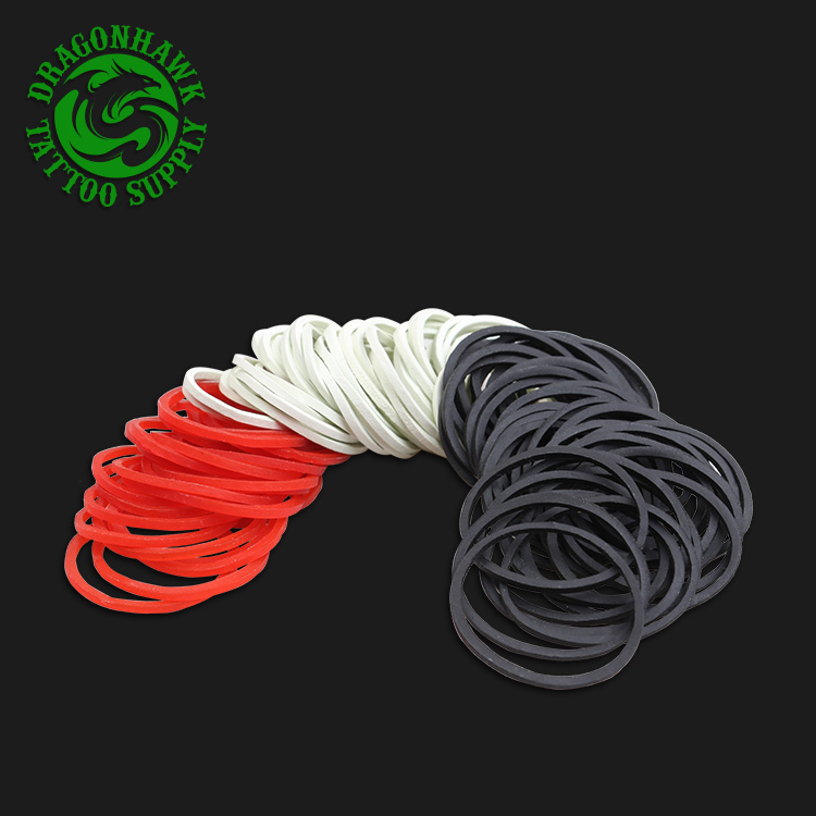 1 Package 130 pcs Rubber Bands Tattoo Supply For Holder Needle Super Elastic Made In Malaysia1 Package 130 pcs Rubber Bands Tattoo Supply For Holder Needle Super Elastic Made In Malaysia