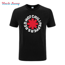 2016 Summer Rock Band Red Hot Chili Peppers T shirt Camisetas Hombre Hot nk Punk Rap Alternative Rock Fashion T shirt