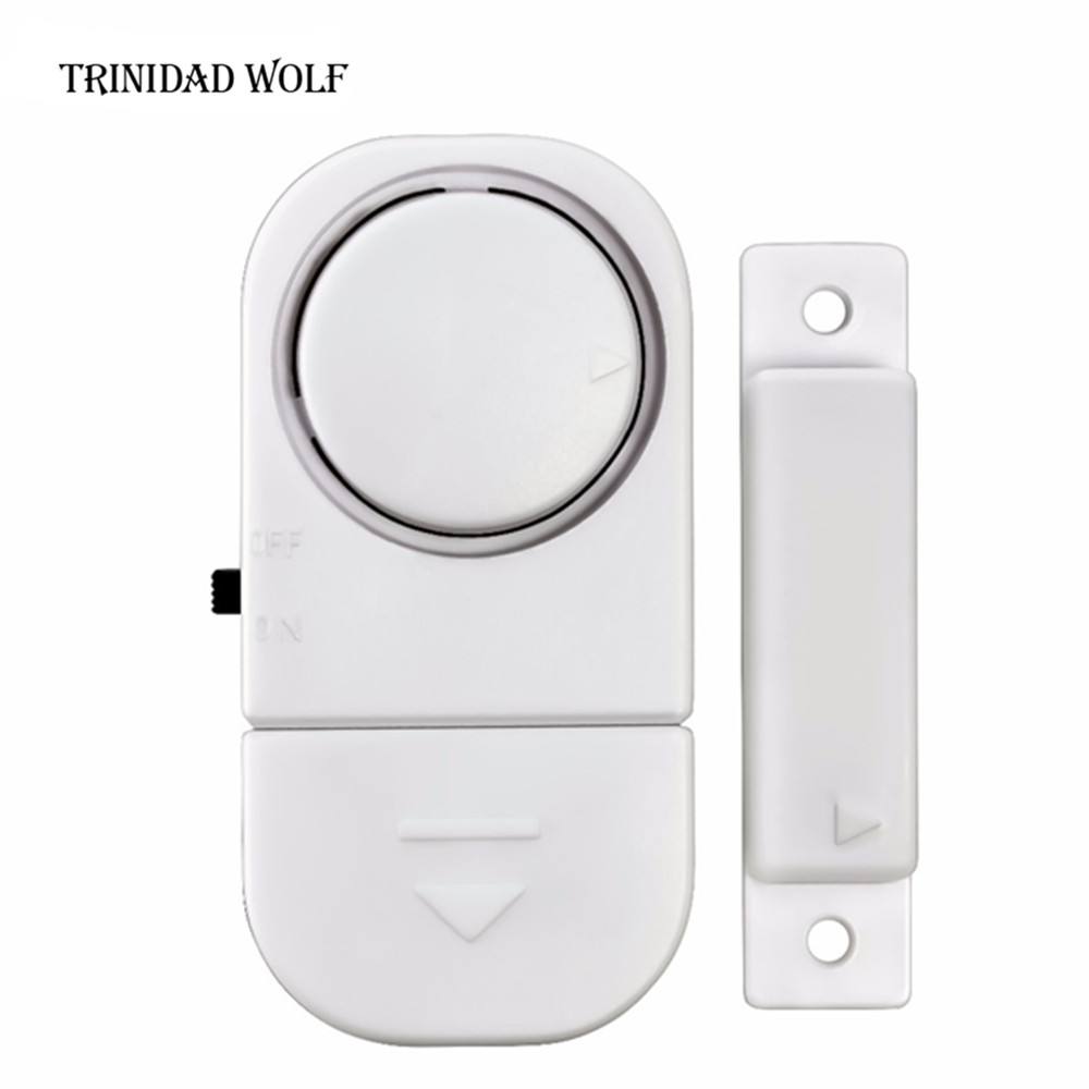 цены TRINIDAD WOLF Standalone Magnetic Sensors Independent Wireless Home Door Window Entry Burglar Alarm Security alarm Guardian