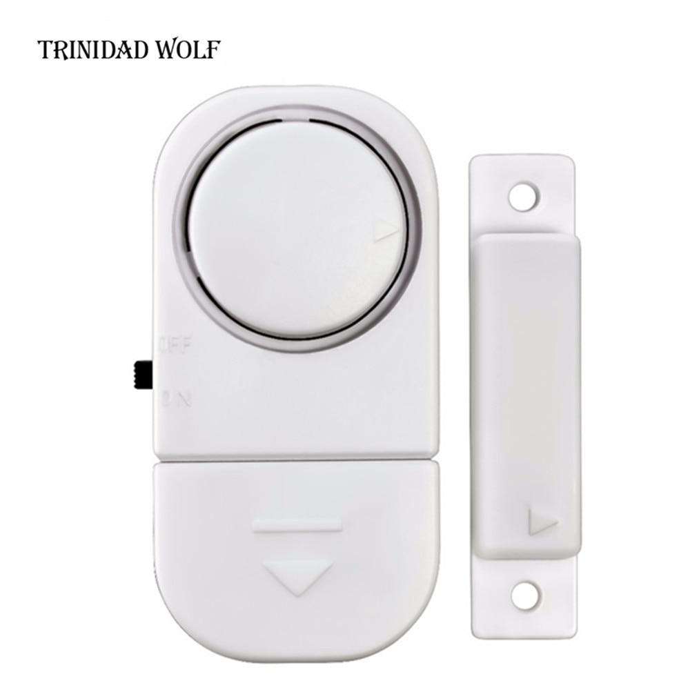 цены TRINIDAD WOLF Standalone Magnetic Sensors Independent Wireless Home Door Window Entry Burglar Alarm Security alarm Guardian
