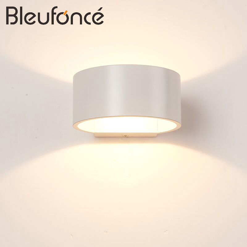 Interior led Wall Lamp Aluminum Modern Simple Sconce Home Decoration Lighting led Wall Light Bedroom living Room Wall Lamp BL129 free shipping european wall lamp living room restaurant wall lamp brass color wall lamp wall bracket e14 led home decoration
