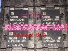 (1 ШТ.) (2 ШТ.) (5 ШТ.) (10 ШТ.) 100% новый импортированный первоначально KLMCG8GEAC-B031 BGA 153 EMMC серии 64 ГБ шрифта