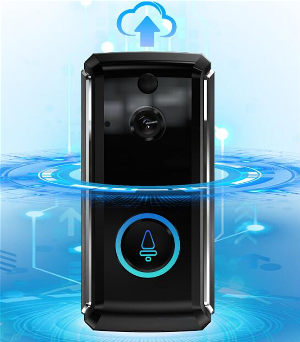 720P 160 Degree Wide Angle  WIFI Doorbell  Build-IN Battery  Video Door Phone