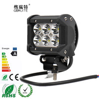 4 Inch 18W LED Work Light Bar For Indicators Motorcycle Driving Offroad Boat Car Tractor Truck