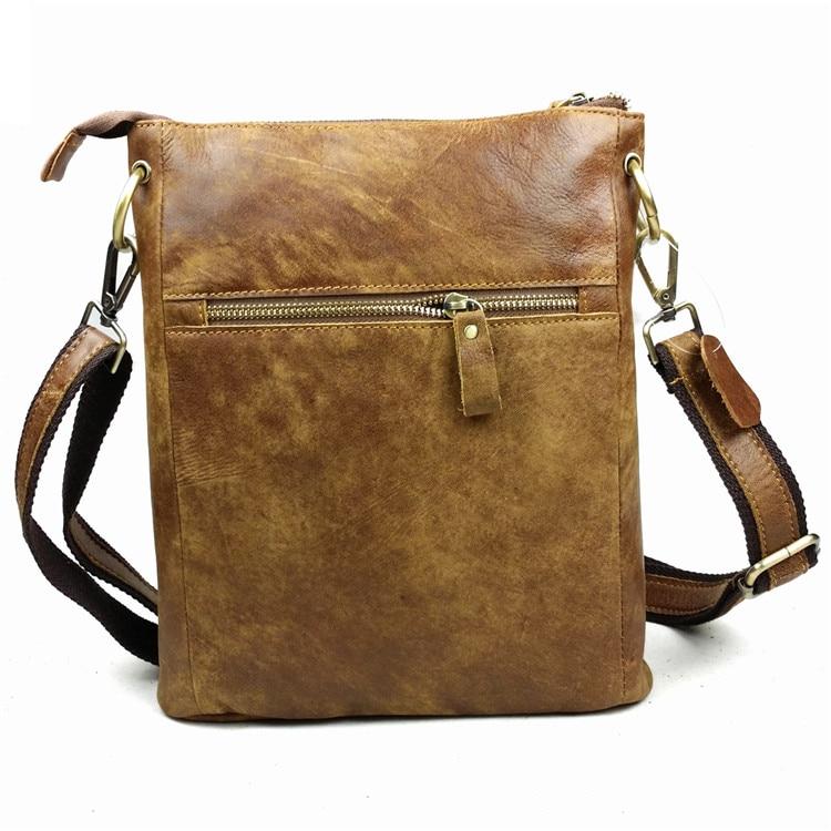 Nubuck γνήσιο δέρμα άνδρες τσάντα casual - Τσάντες - Φωτογραφία 3