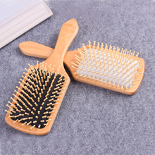 Natural Wooden Anti-Static Comb Hair Care Massage Spa Antistatic Hairbrush Scalp