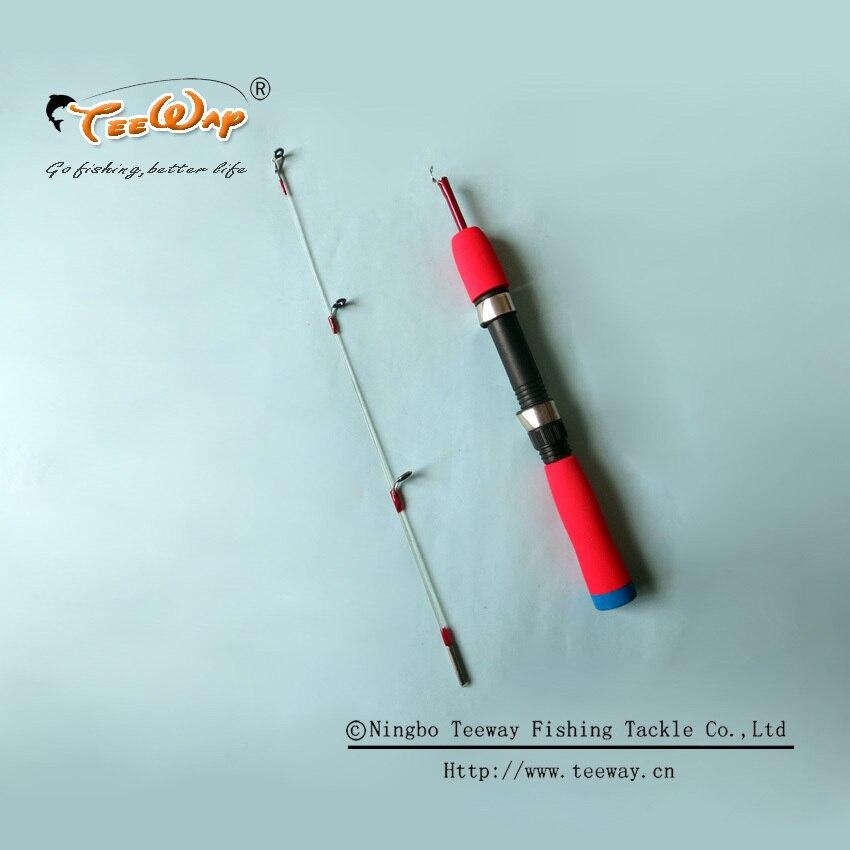 80cm Ice Fishing Rod Carbon Telescope Mini Pole Carp Fishing Vara De Pesca De Carbono Raft fishing rod for Fishing Tackle