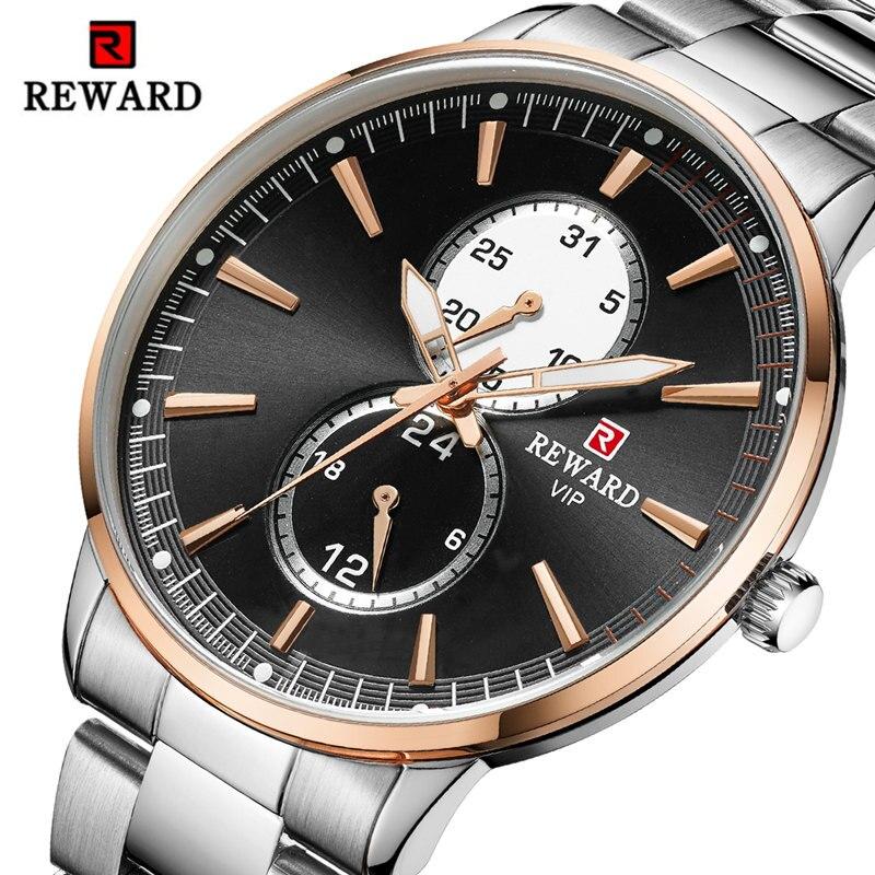 Récompense Relogio Masculino hommes montre Top marque de luxe Sport hommes montres à Quartz horloge étanche militaire montre-bracelet Saati