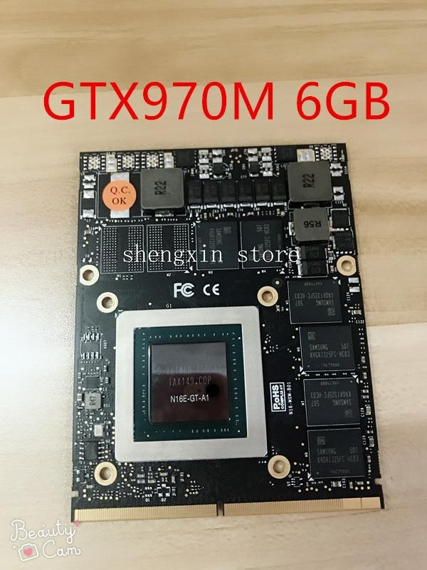NEW!!! GTX 970M GTX970M N16E-GT-A1 6GB Video Graphics Card For Clevo P375SM P170EM P150EM P157SM P151SM P150SM P170SM P177SM