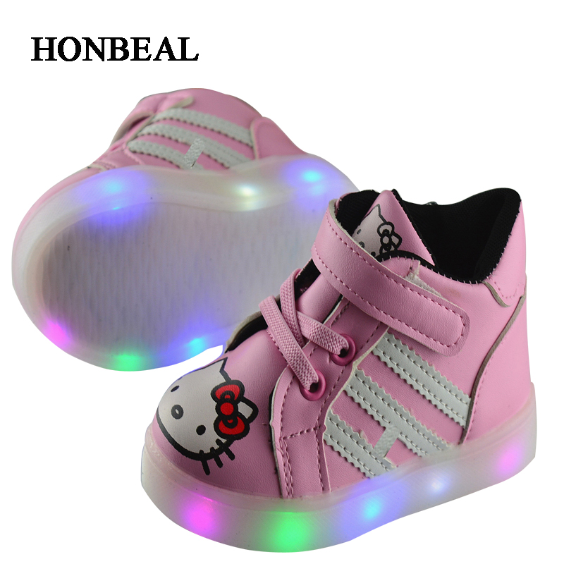 ФОТО In The Spring Of 2017  Shoes And Children Led Lamp Light Shoes Children Shoes Usb Shoes Wholesale Tide Colorful Lig