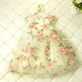 Can Choose sizes order,Flower Petal Print girls dresses children summer princess dresses,wholesale baby boutique clothing 5p/lot