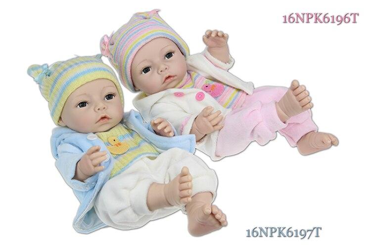 Doll Baby D155 40CM 16inch NPK Doll Bebe Reborn Dolls Girl Lifelike Silicone Reborn Doll Fashion Boy Newborn Reborn BabiesDoll Baby D155 40CM 16inch NPK Doll Bebe Reborn Dolls Girl Lifelike Silicone Reborn Doll Fashion Boy Newborn Reborn Babies