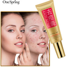 OneSpring Professional Anti Acne Cream Skin Care Oil Control Shrink Pores Scar Removal Gel Face 30g