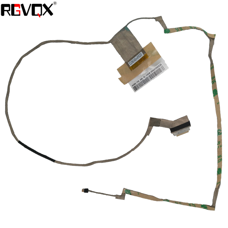 New Original LCD LED Video Flex Cable For LENOVO G500 G505 G510 Display Screen Cable LCD LVDS VIDEO PN:DC02001PR00 DC02001PS00 new 593 1006 for imac 21 5 a1311 lcd lvds display screen cable 2009 year