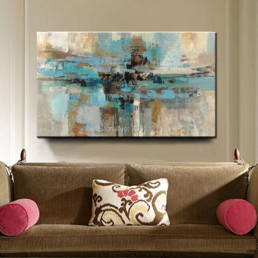 Online kopen wholesale turquoise schilderijen uit china turquoise ...
