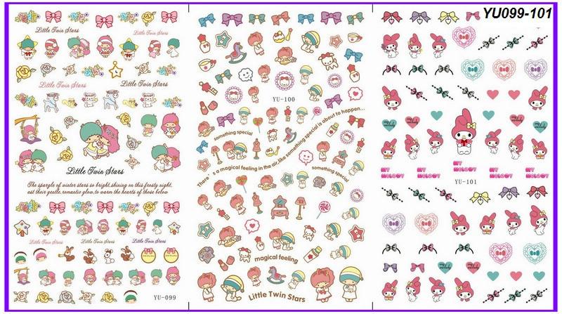 Kpop Nail Art Stickers: Korean nail art supplies ideas. G dragon ...