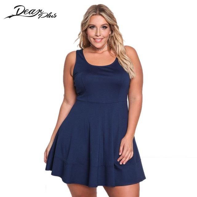 Women Sexy A Line Mini Dress Plus Size Draped Ladies Casual Summer