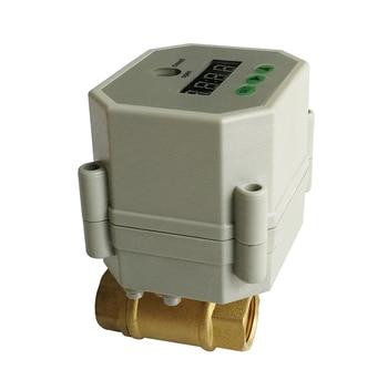 3/8'' brass Timer Valve NPT/BSP,  AC110-230V timer motorized valve for garden, Drain water and water control