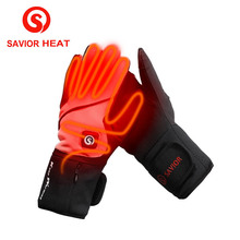 Savior Heat battery heated glove winter outdoor sports fishing skiing bicycle hunting golf skiiing horse riding motorcycle 2017