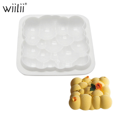 Silicone Cloud Cake Pan For Mousse Desseert Mold Cream Pastries Chiffon Mould Cake Decorating Tools DIY Baking Accessories