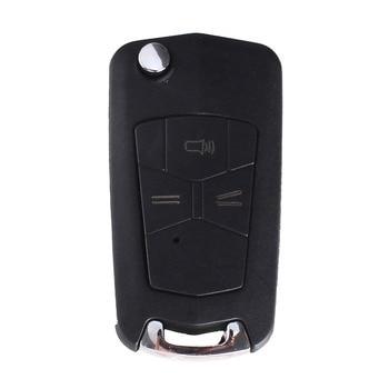 chiave telecomando per Toyota Hilux Rav4 Corolla Camry 3 Tasti Toy43 Blade 1