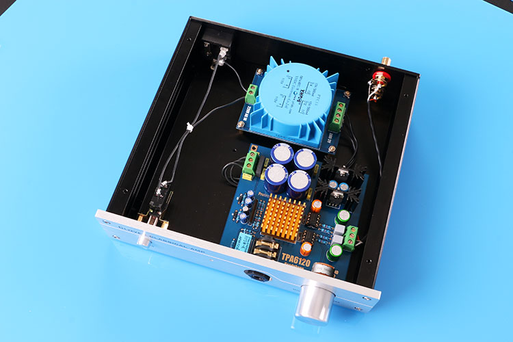 Fini TPA6120A2 classe A oreille lecteur Machine optimise 0 bas bruit surveillance écouteur amplificateur