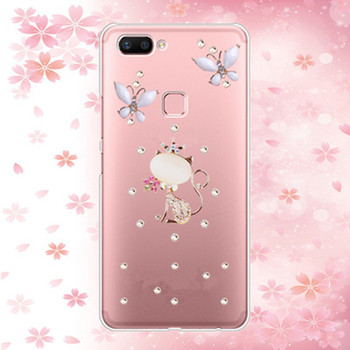 j6 2018 3d Bling Crystal Rhinestone Luxury Back phone Case Cover For Samsung Galaxy J4 2018 J6 2018