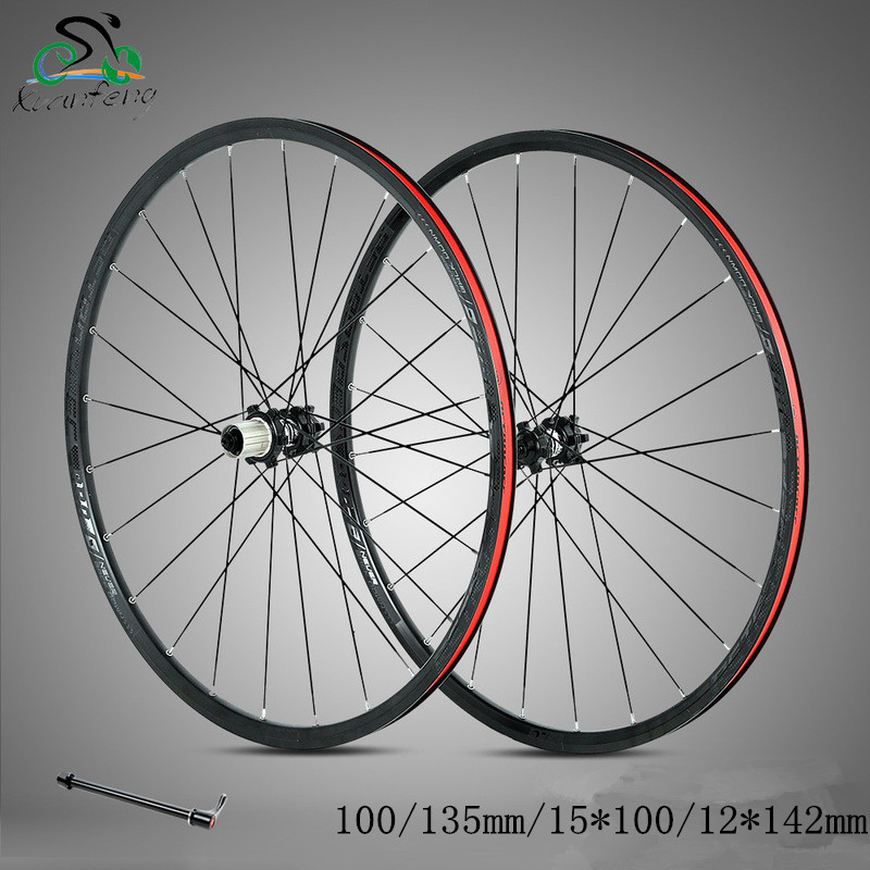 MTB Mountain Bike wheels 27.5/29inch 24H Disc Brake Bicycle wheels 4 bearings wheelset 100*15/142*12*135mm 8-11 speed
