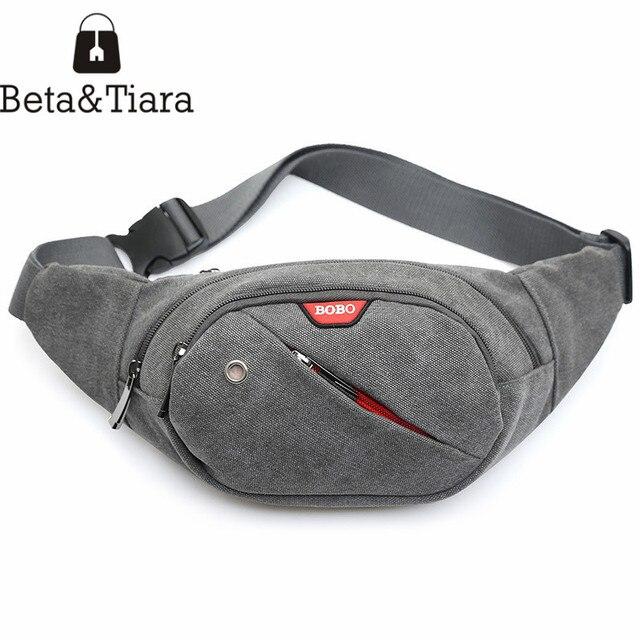 Hip bags men belt bag canvas fanny pack men money belts travel phone bags  cell phone belt pouch pouch belt canvas bag