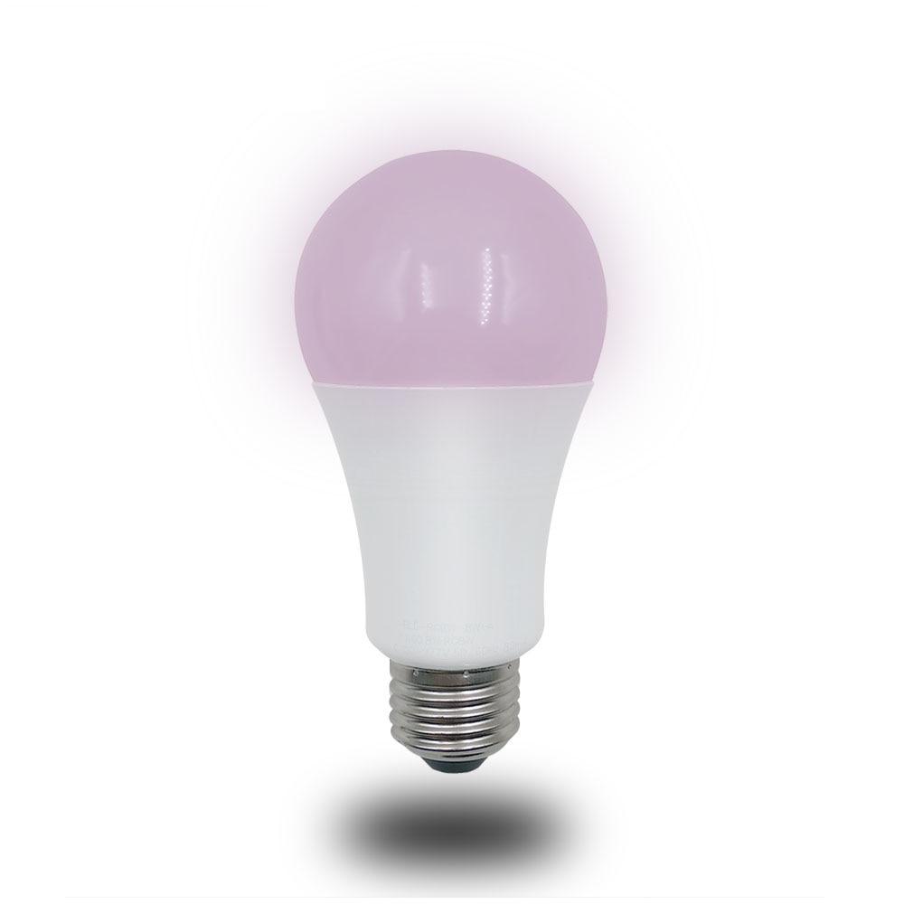 E27 8 W RGBW Lâmpada LED Colorido Lâmpada de Controle Remoto Compatível com o Echo/Google home/Smarthings Via Zigbee ponte