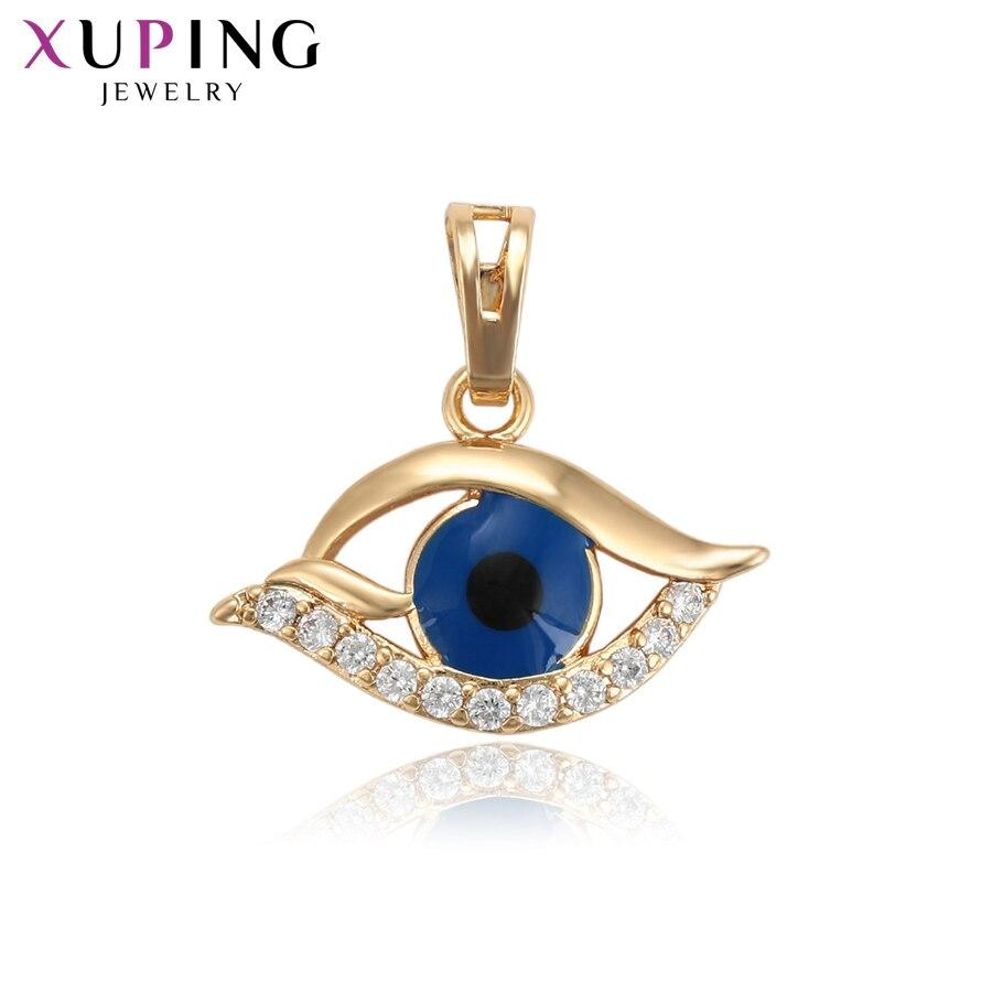 11,11 сделок Xuping модные классические глаз Форма Подвески золото Цвет покрытием украшения для Для женщин День матери подарки S95-33907