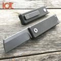 LDT Mini Folding Knife M390 Blade Titanium Handle Key Chain Knives Ouutdoor Camping Hunting Survival Pocket EDC Tools Small