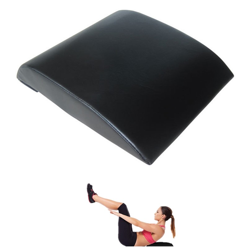 Us 14 66 14 Off Ab Mat Sit Up Trainer Pad Abdominal Fitness Equipment For Sit Ups Yoga Stretcher Cross Fit Workout Mma Home Gym Back Support In Sit
