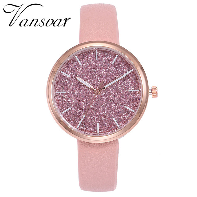 luxury bling watch women leather women female slim watches bracelet ladies quart